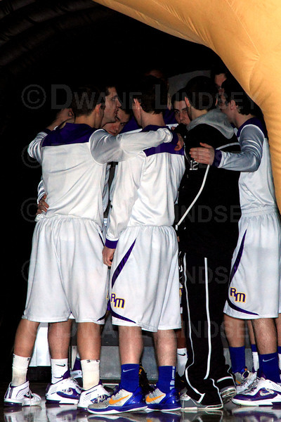 Sr. Night - Rolling Meadows Varsity - 02-17-12