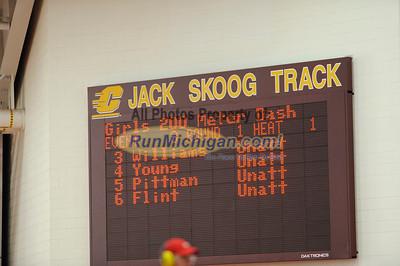 Girl's 200 Meters - 2013 MITS State Meet