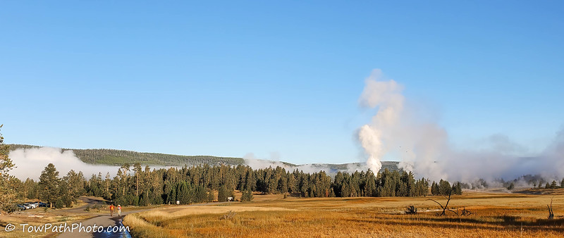 Old Faithful Area