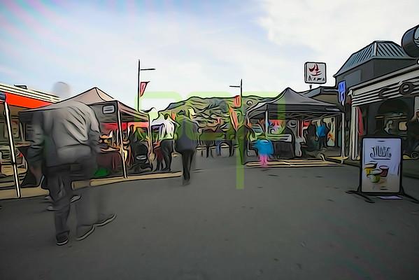 Lyttelton Market Timelapse 27 July 2019