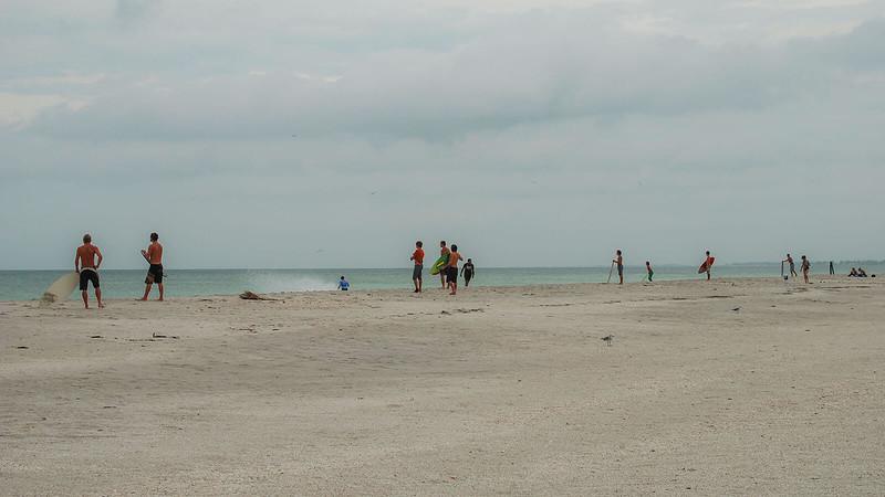 Gasparilla Island State Park surfers