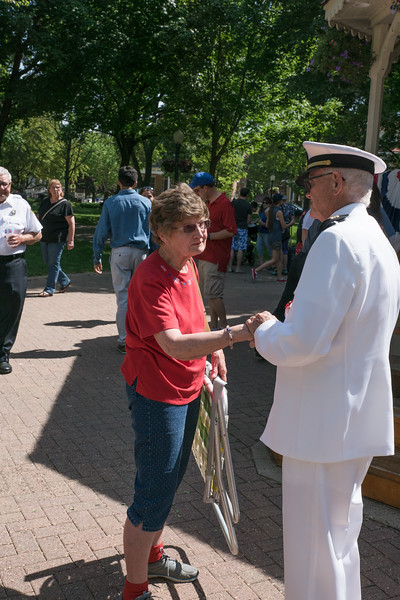 2018 Chaska city square park Memorial day