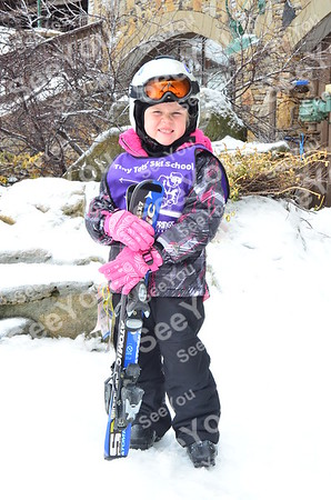 Tiny Tots Ski School 2-27-13