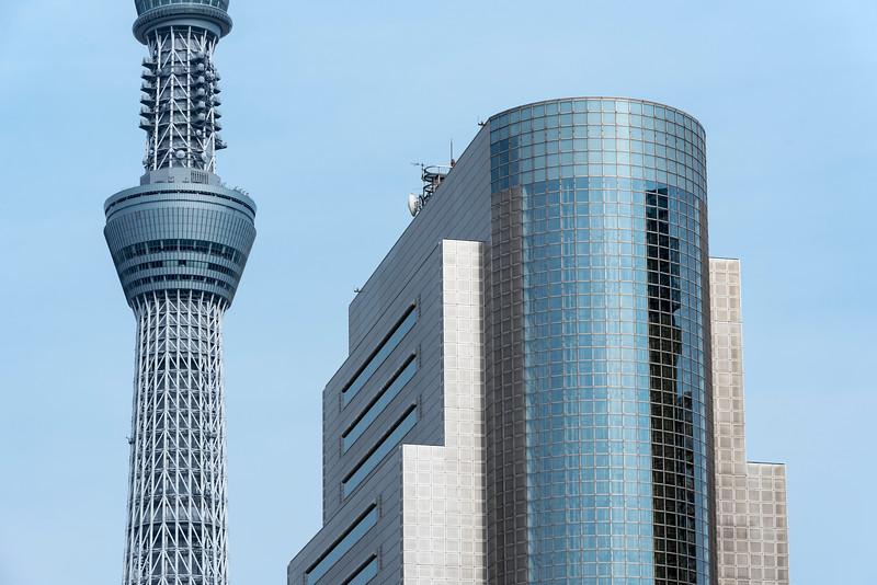 Tokyo Skytree and Sumida Ward Office