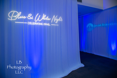 Blue and White Night
