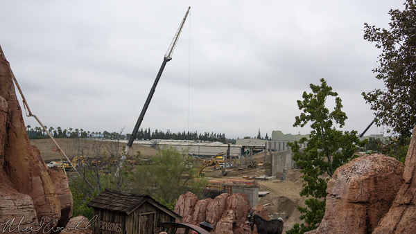 Disneyland Resort, Disneyland, Frontierland, Big Thunder Mountain Railroad, Big Thunder, Star Wars Land, Construction, Trail, Jamboree