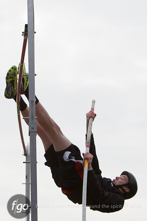 4-18-14 Minneapolis Citywide JV Track and Field Meet at Southwest