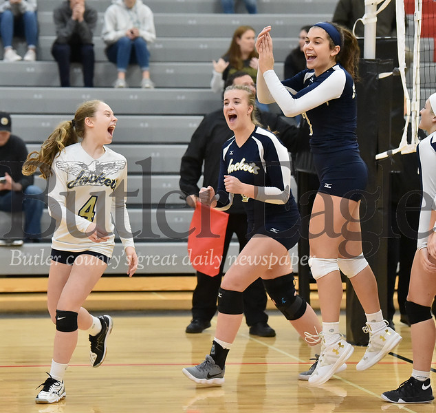 38957 Freeport vs Seton LaSalle WPIAL Class 2A Girls Volleyball quarterfinals at North Catholic