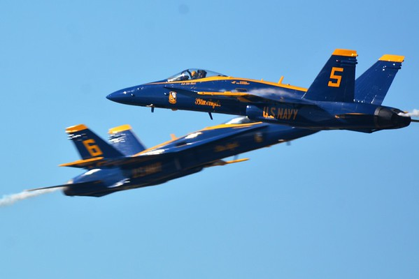 2018 Pensacola Naval Air Station Air Show featuring the Navy's Blue Angels