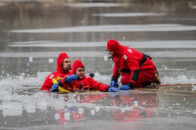 1-12-14 Ice Rescue Drill