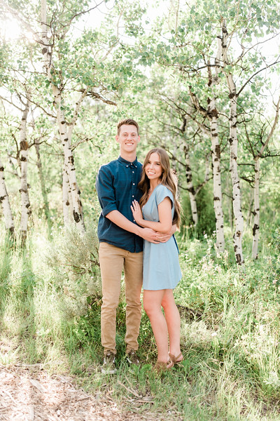 Alex and Allyson engagements