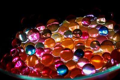 Aqua Crystal Beads