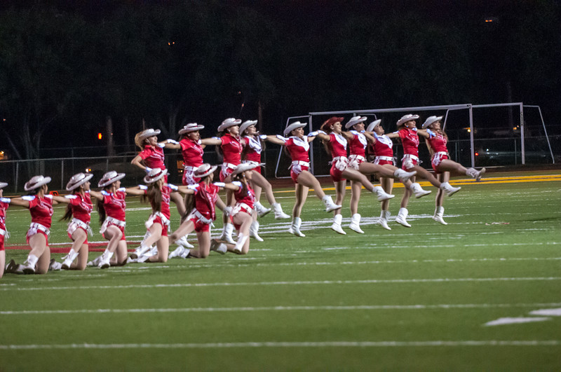 October 2, 2014 - Football - La Joya vs McAllen - Band Cheer Dance_LG