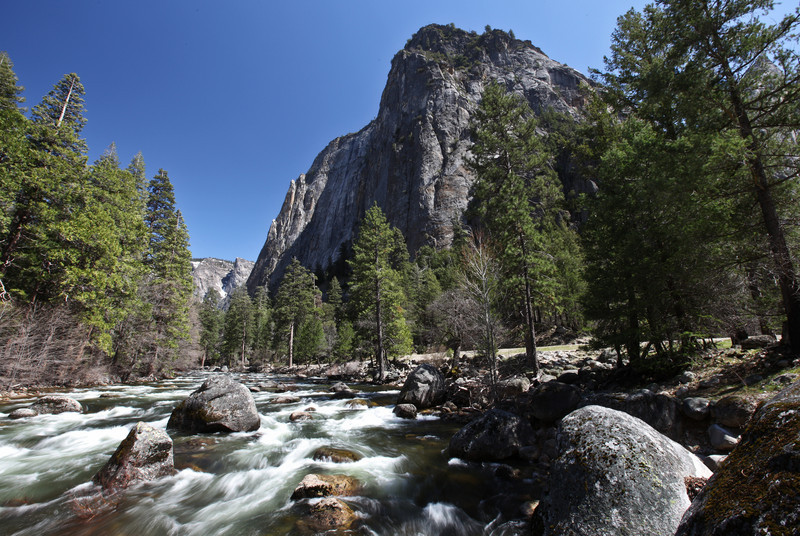 Cathedral Rock & Merced River