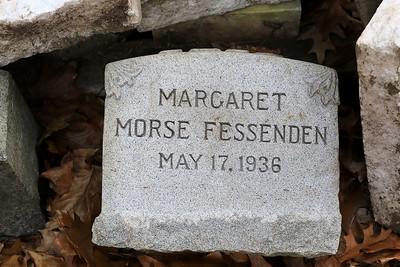 Grave Stones in Lunenburg, November 15, 2018