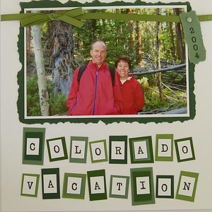 Colorado Vacation 2004