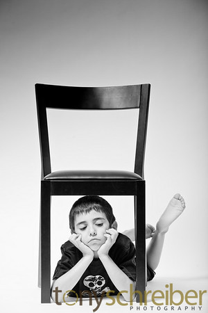 Kid and Chair