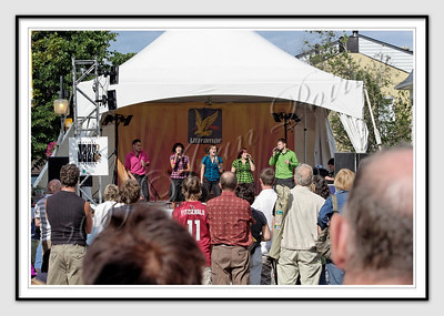 Rainbow 5 au festival de Jazz Lévis 2009