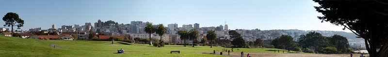 Panorama from the Warf park