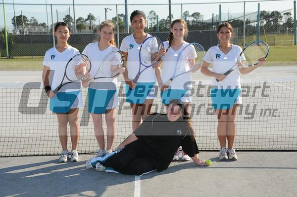 Bayside Bayside Girls Tennis 02/14/12