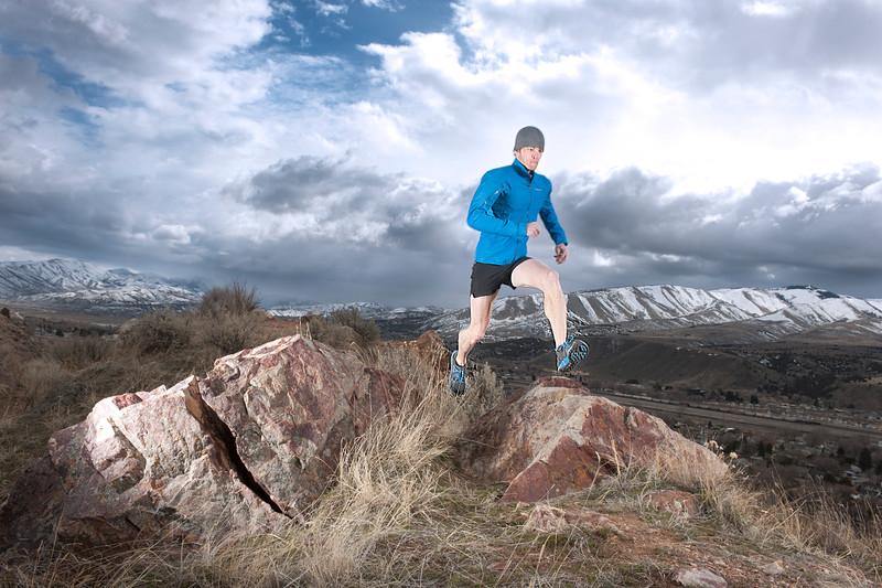 Luke Nelson, an Idaho State University alumnus, is world-renowned in the sports of ski mountaineering and ultramarathoning.