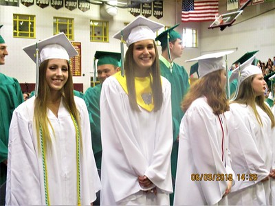 Twin Valley  HS Class of 2018 graduation