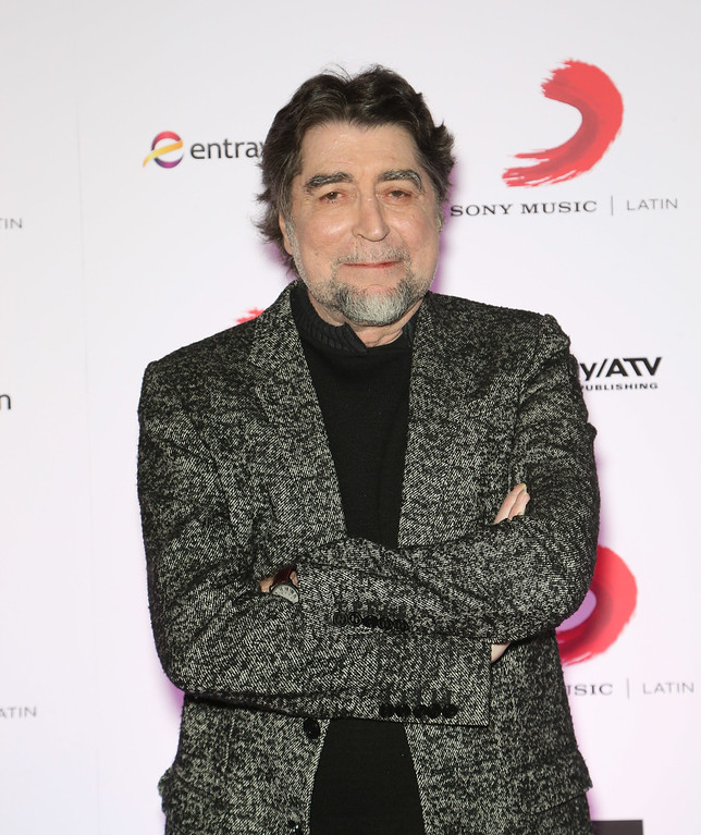 . Singer/songwriter Joaquin Sabina attends Sony Music\'s Latin Grammy after party at XS The Nightclub at Encore Las Vegas on November 20, 2014 in Las Vegas, Nevada.  (Photo by Gabe Ginsberg/Getty Images for Selig Multimedia / Sony Music Latin)