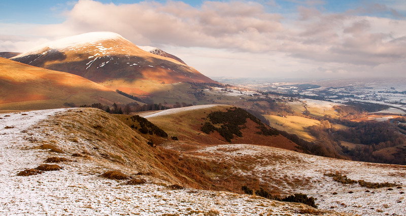 Snow on Latrigg