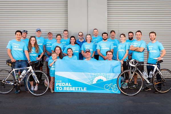 Pedal to Resettle Kickoff 2018