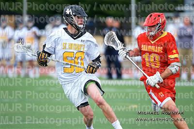 Lacrosse, Boys Varsity, 05.10.16 St Anthonys VS Chaminade