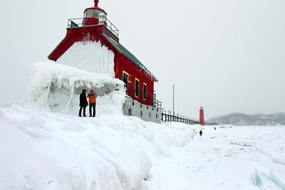 Grand Haven south pier 20140301