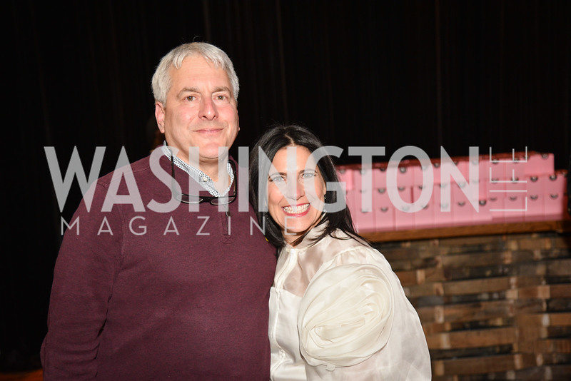 Hugh Panero, Laurie Strongin,  Hope for Henry, 15th Anniversary Extravaganza, ' Sparkles and Sneakers', City Winery in Ivy City. October 20, 2018, photo by Ben Droz.