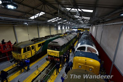 "UK Trip: 2019 Crewe Diesel Depot Open Day ""All Change"""