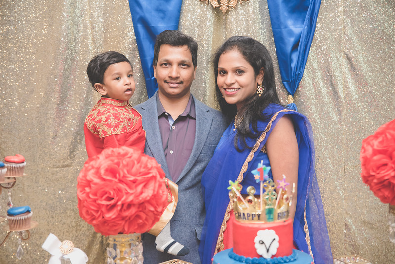 Vihaan's 1st Birthday Celebration 02.12.17