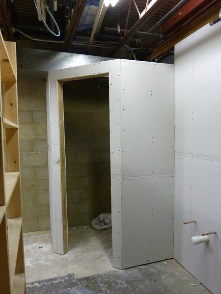 The tool closet.