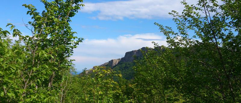 Napoleonic era fort above Val Pennavaira