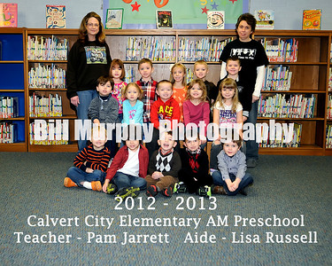 2012 - 2013 Calvert City Elementary Class Groups, January 23, 2013.