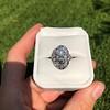 1.75ctw Edwardian Toi et Moi Old European Cut Diamond Ring  19