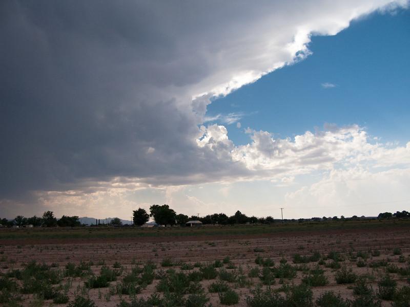 5/10/2009 Storm near Pecos, TX