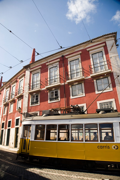 Tram, Alfama, Lisbon