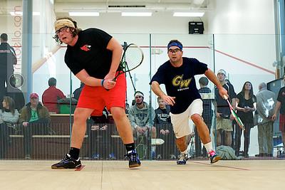 2010-12-04 Chase Hochman (Wesleyan) and Player Haynes (George Washington)