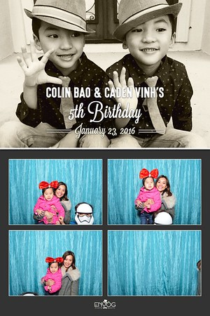 Colin & Caden's 5th Birthday (prints)