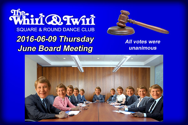 2016-06-09 WT Board Meeting