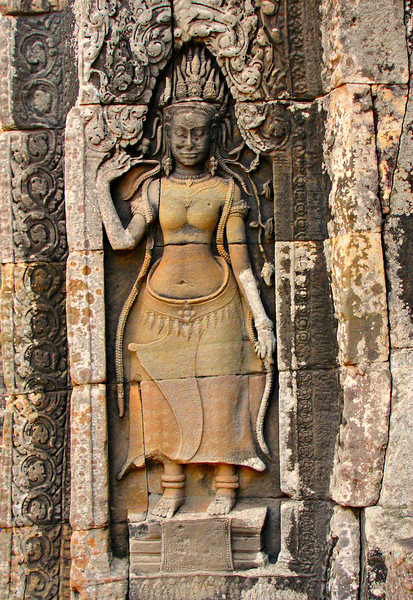 temple dancer (apsara), Angkor Thom