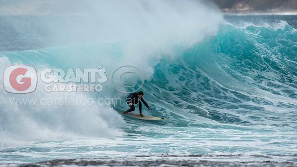 Surfing in Kalbarri Western Australia