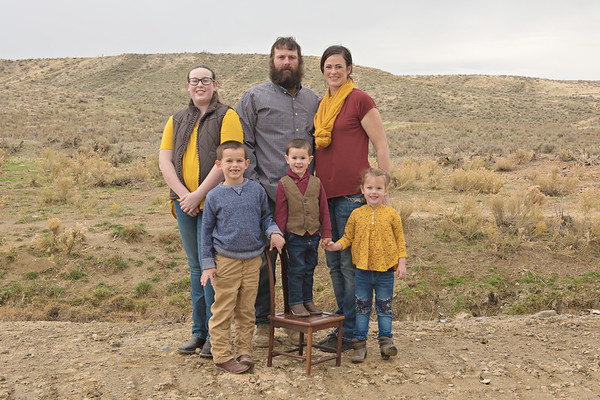 Levi and Ginger Family Fall 2017