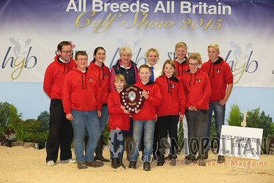 All Britain Calf Show 2015