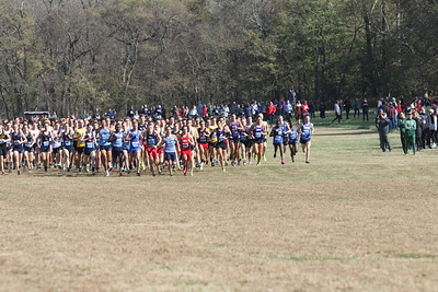 Mens Start - 2019 NCAA DII Cross Country Midwest Regional