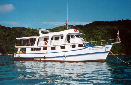 Similan Liveaboard MV Dolphin Queen