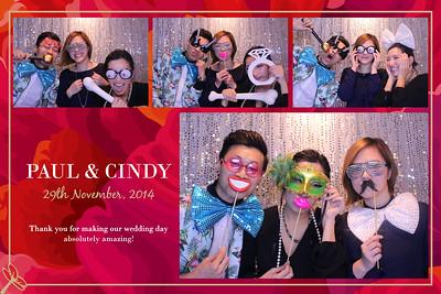 Cindy & Paul Wedding 29th November 2014